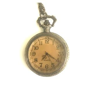 Vintage Pocket-Watch Necklace